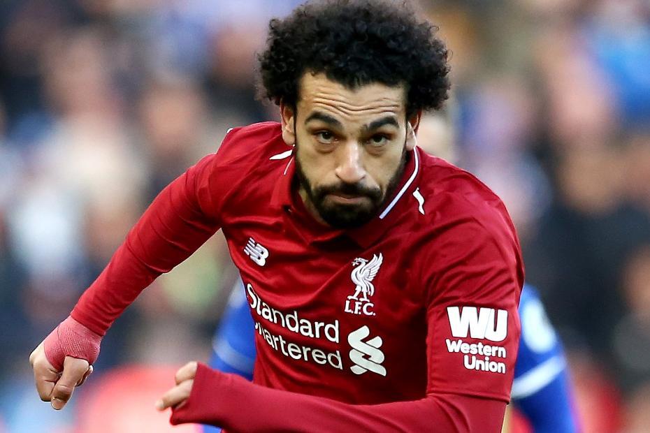 Mohamed Salah action