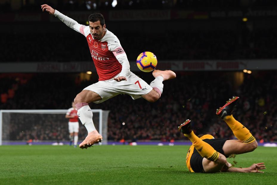 Henrikh Mkhitaryan, Arsenal