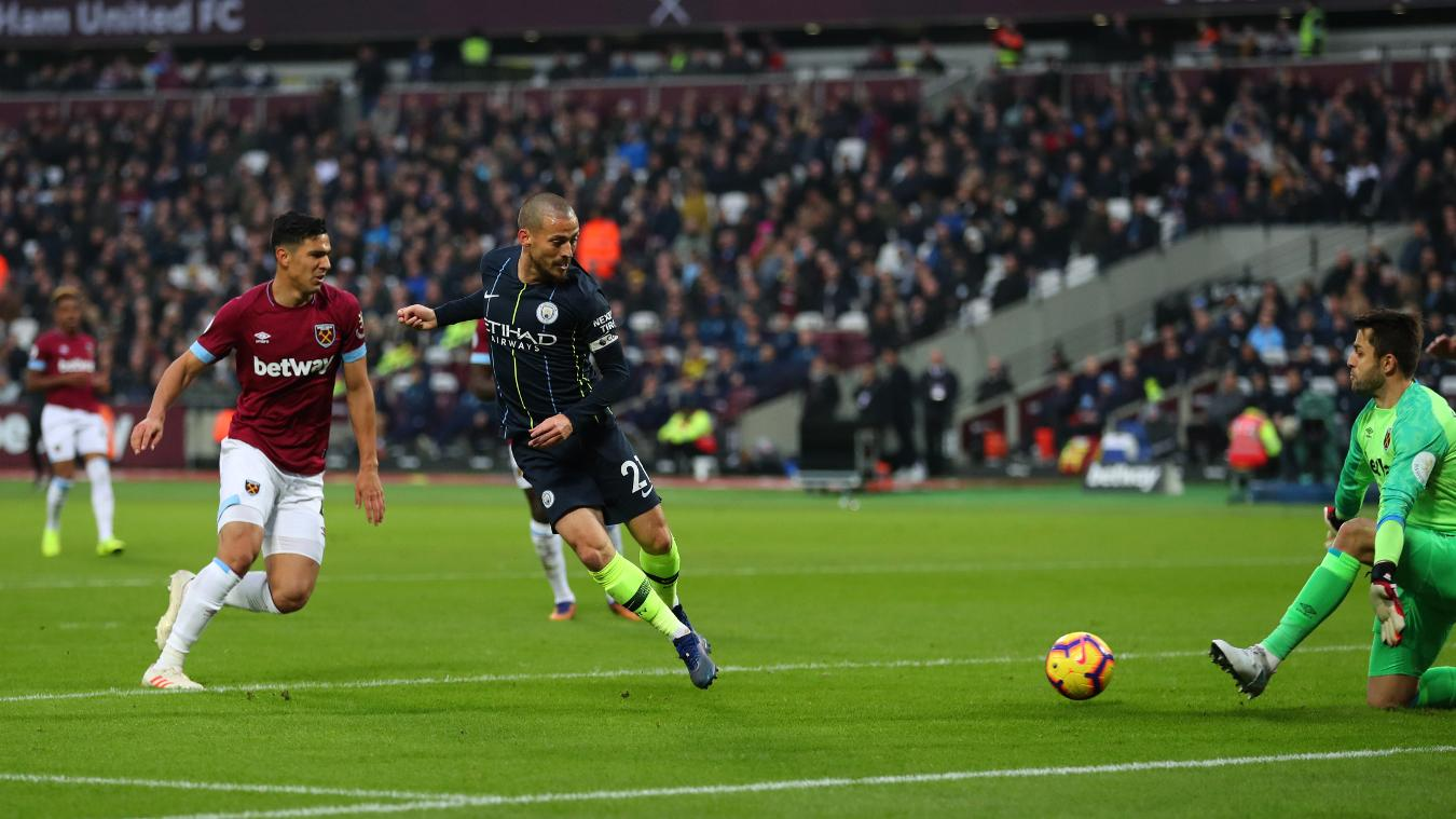 West Ham United 0-4 Manchester City