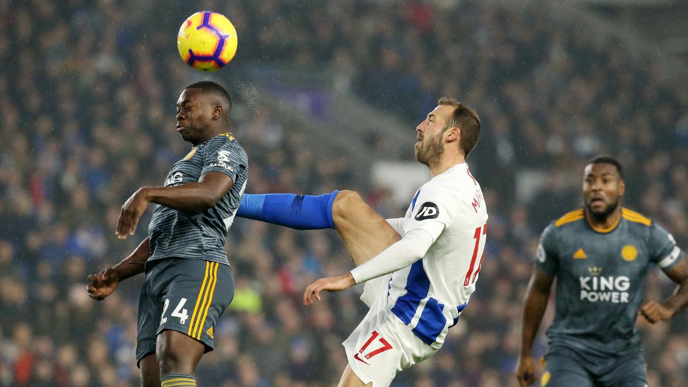 Brighton & Hove Albion 1-1 Leicester City