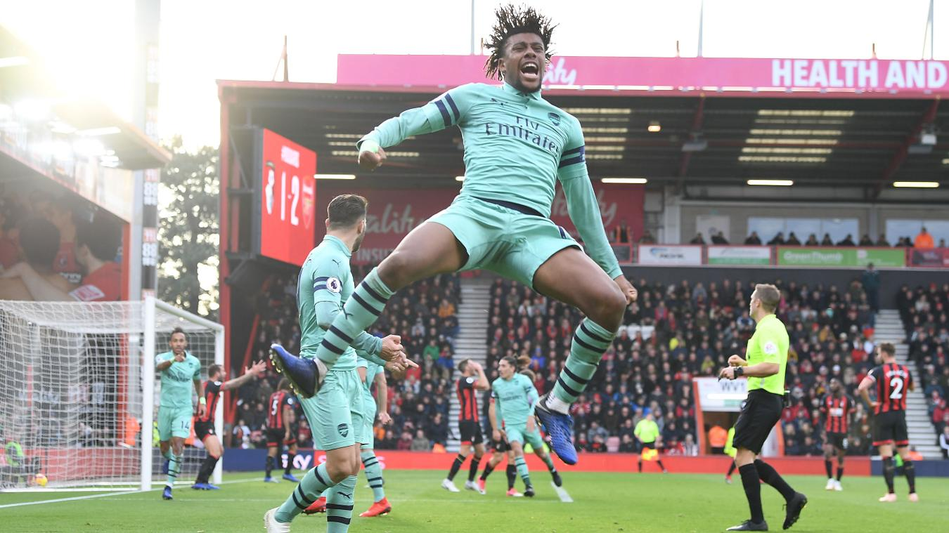 AFC Bournemouth 1-2 Arsenal