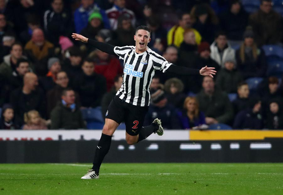 Burnley v Newcastle United