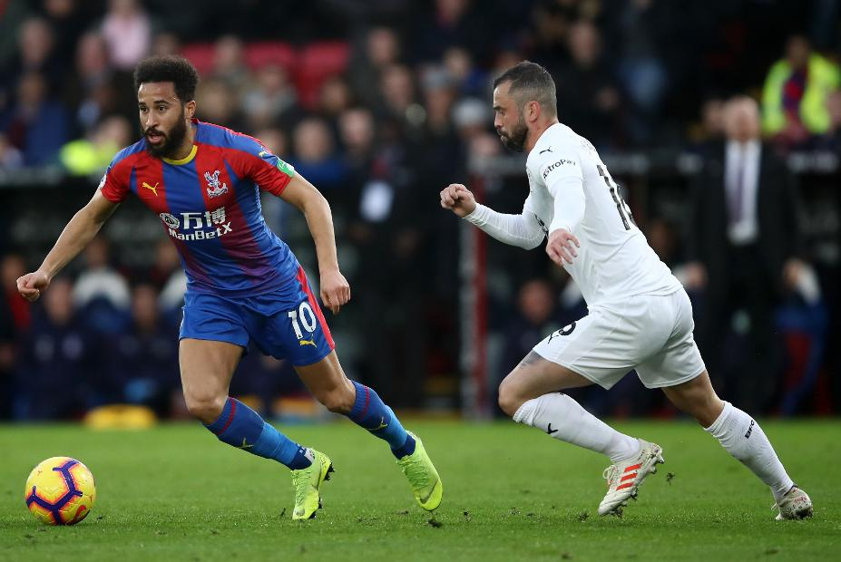 Andros Townsend, Crystal Palace v Burnley