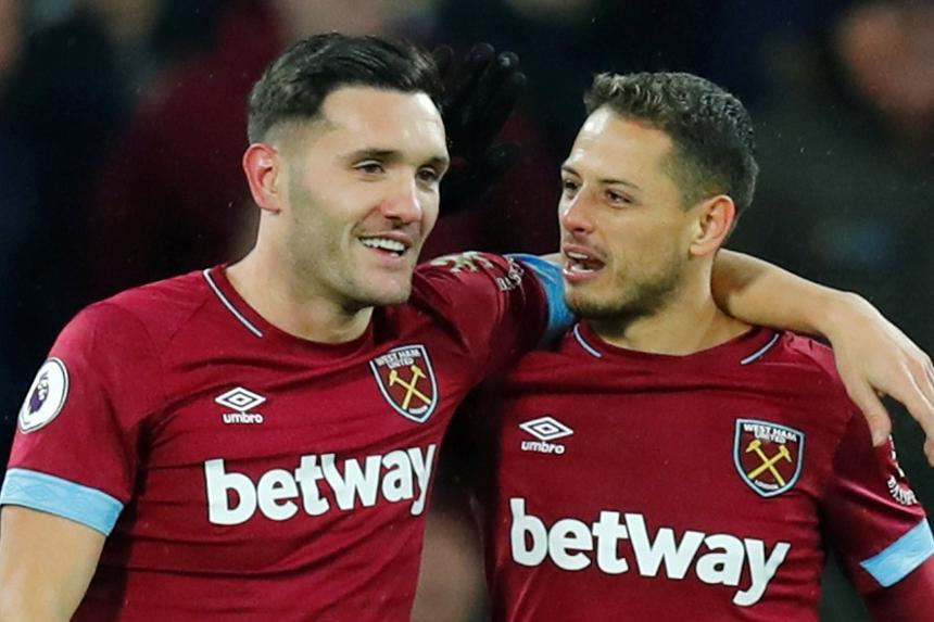 Lucas Perez and Chicharito