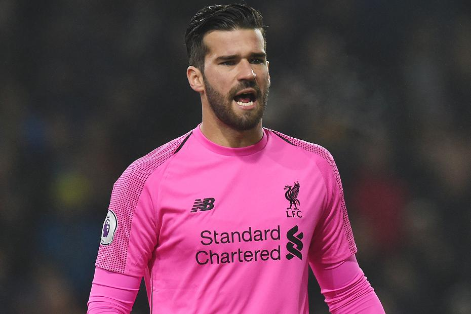 Alisson, Burnley v Liverpool