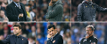 Shortlist for November's Barclays Manager of the Month