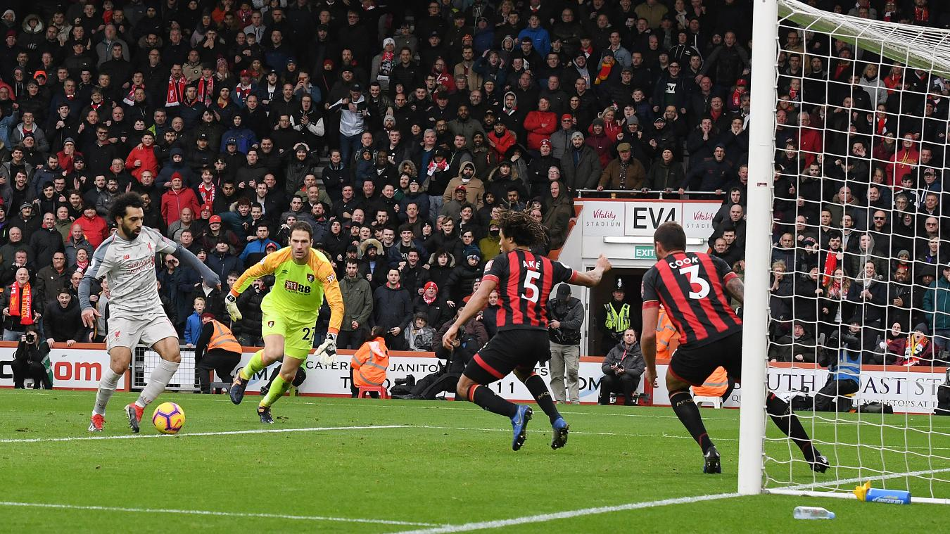 AFC Bournemouth 0-4 Liverpool