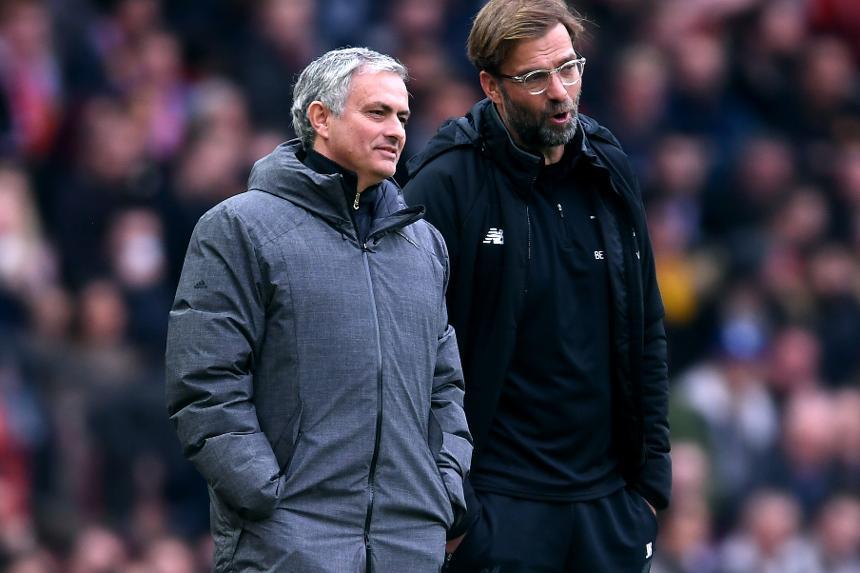 Mourinho and Klopp