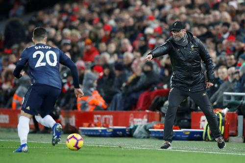 Liverpool V Man Utd 201819 Premier League