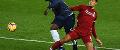 Virgil van Dijk challenges Romelu Lukaku