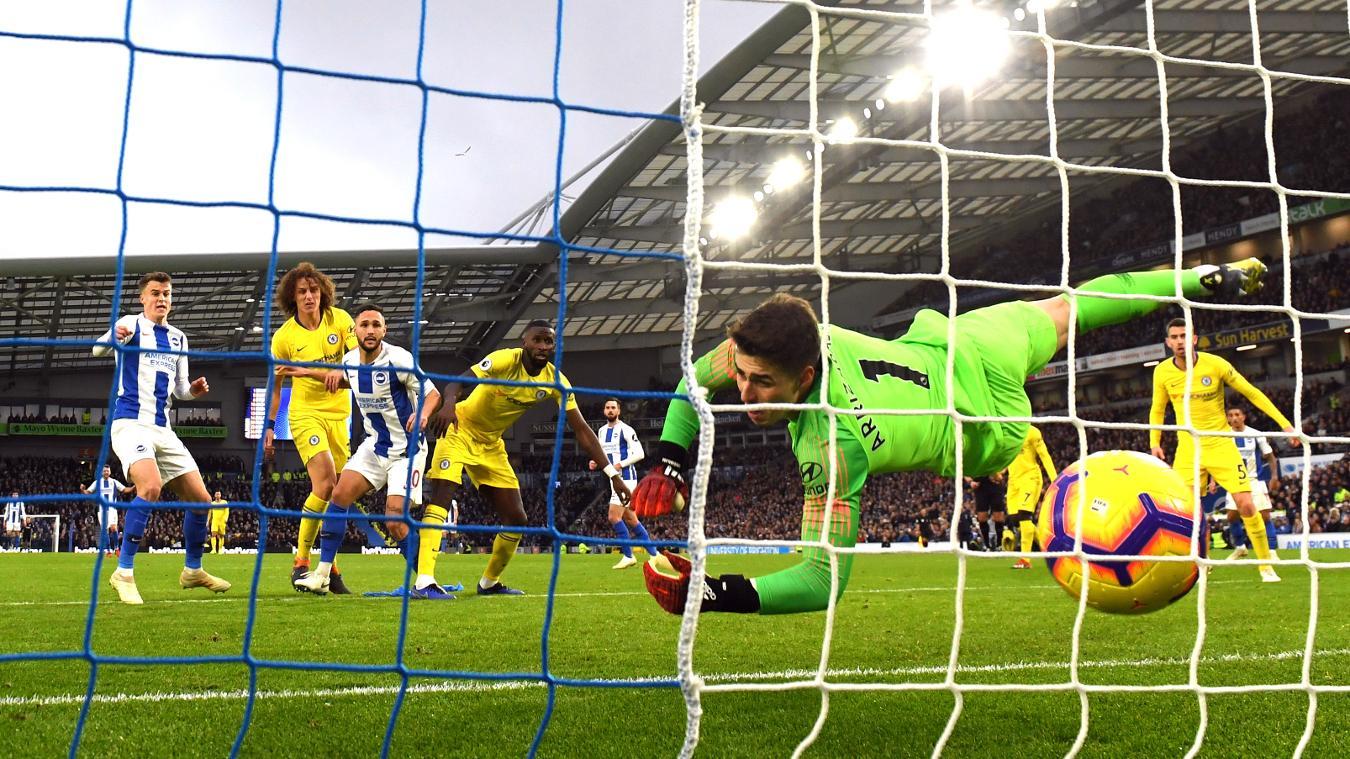 Brighton & Hove Albion 1-2 Chelsea