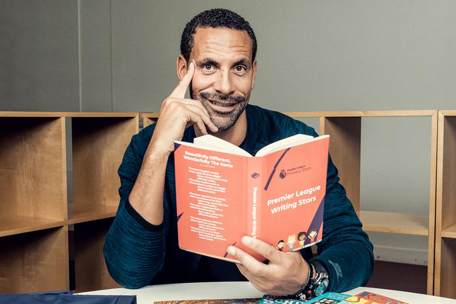 Rio Ferdinand, PL Writing Stars