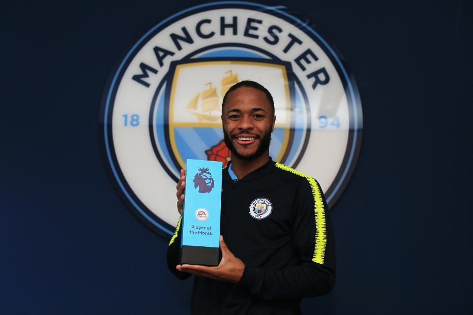 Raheem Sterling, EA SPORTS Player of the Month