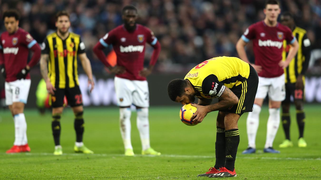 West Ham United 0-2 Watford