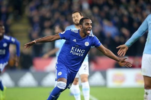 Image result for leicester city vs man city