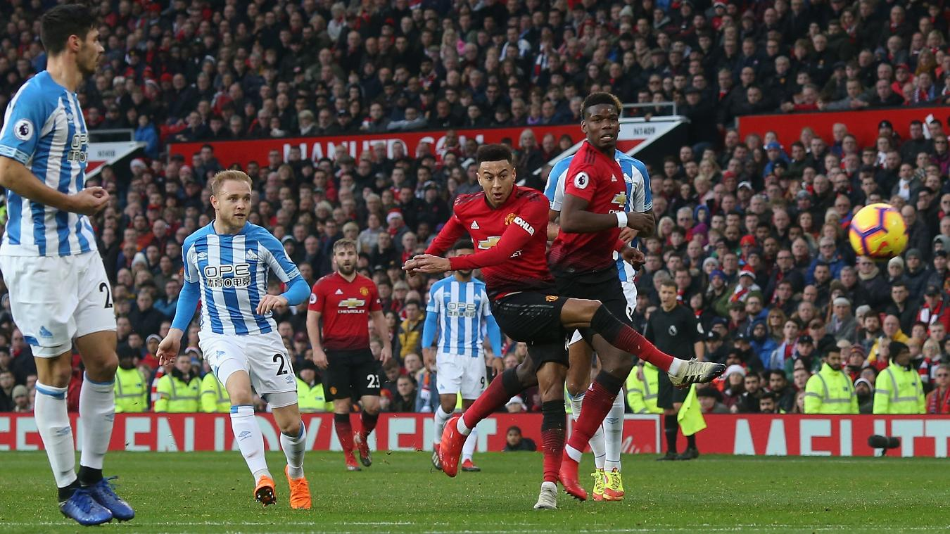 Manchester United vs Huddersfield 3-1 Highlights