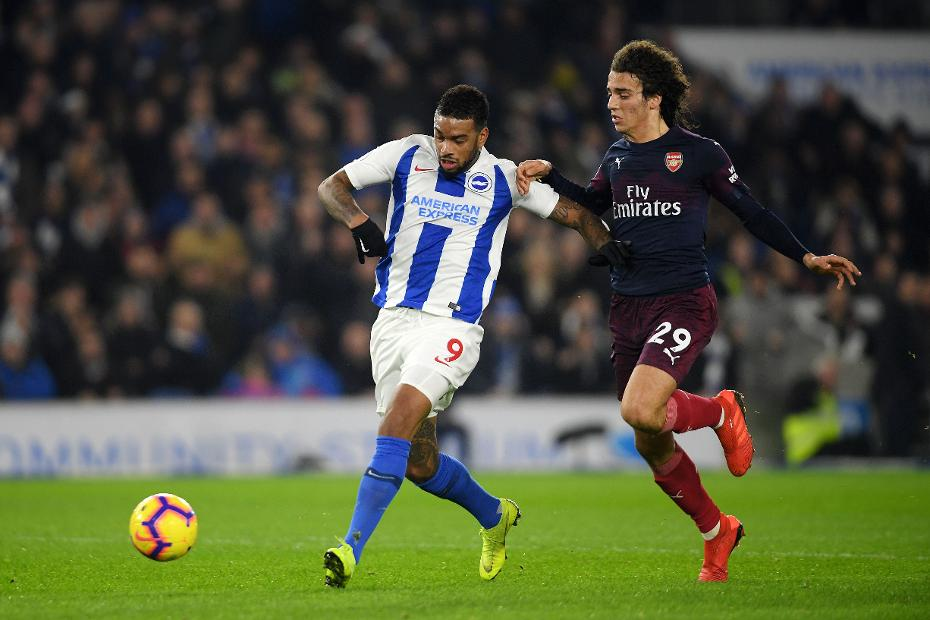 Brighton & Hove Albion v Arsenal