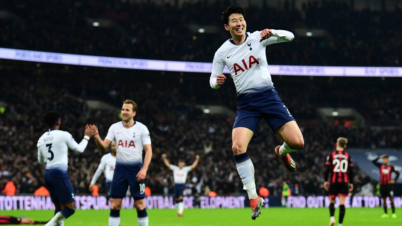 Tottenham Hotspur 5-0 AFC Bournemouth