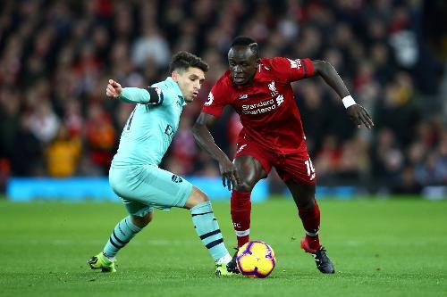 Liverpool V Arsenal 201819 Premier League