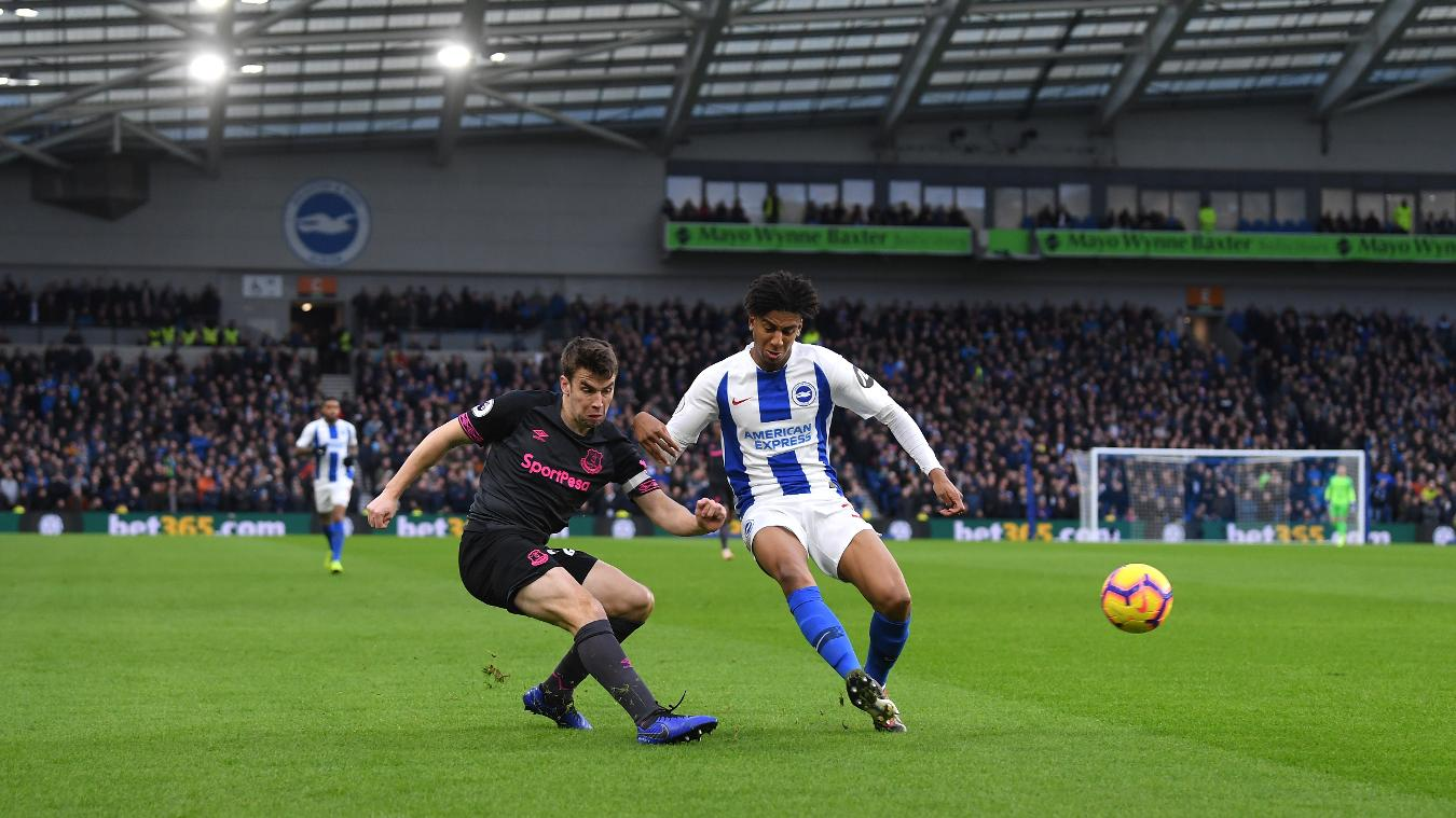 Brighton & Hove Albion 1-0 Everton