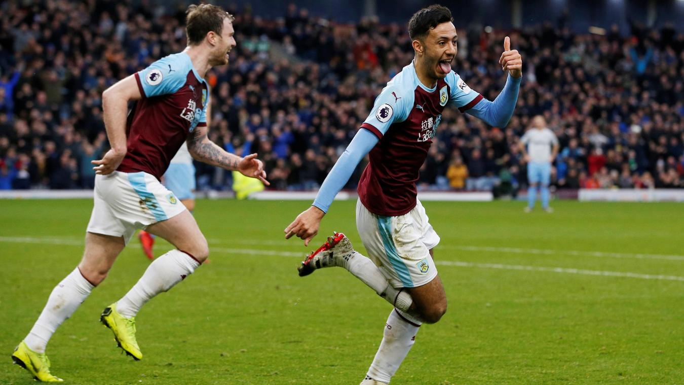 Burnley 2-0 West Ham United
