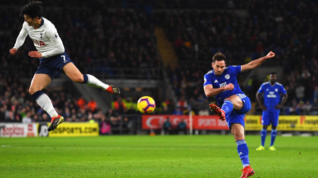 Cardiff City 0-3 Tottenham Hotspur