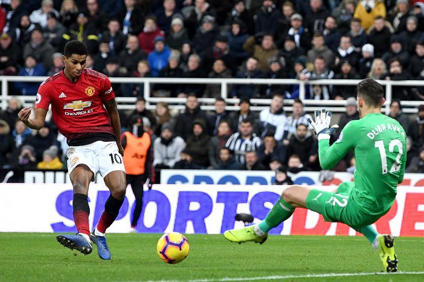 Newcastle United v Manchester United - Marcus Rashford