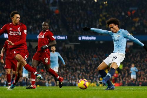 Man City v Liverpool, 2018/19   Premier League