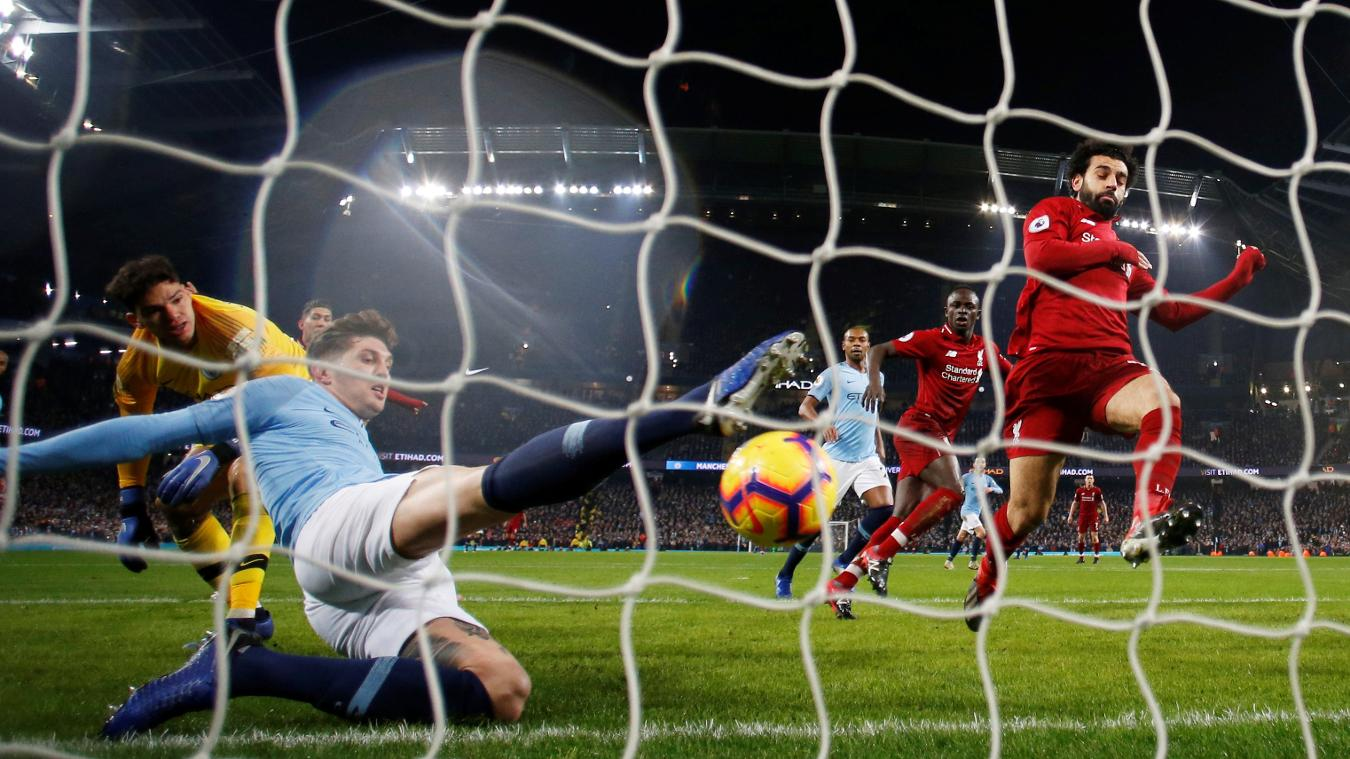 Manchester city vs liverpool  highlights