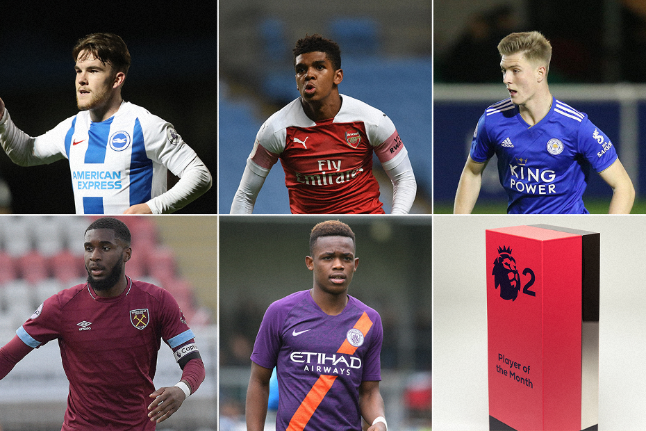 December 2018 PL2 Player of the Month award nominees