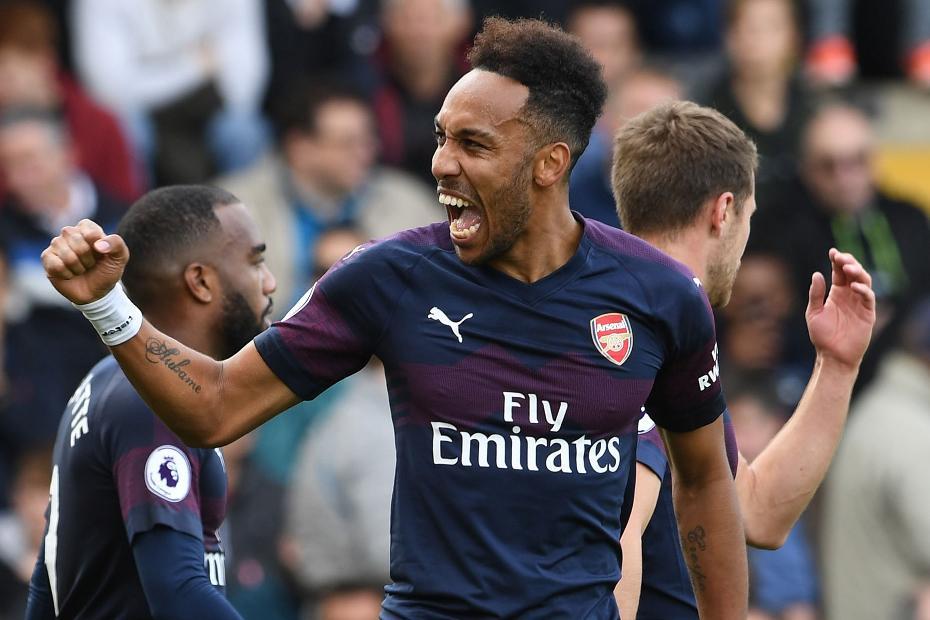 Pierre-Emerick Aubameyang, goal Fulham v Arsenal .jpg