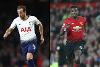 Harry Kane, Spurs, and Paul Pogba, Man Utd