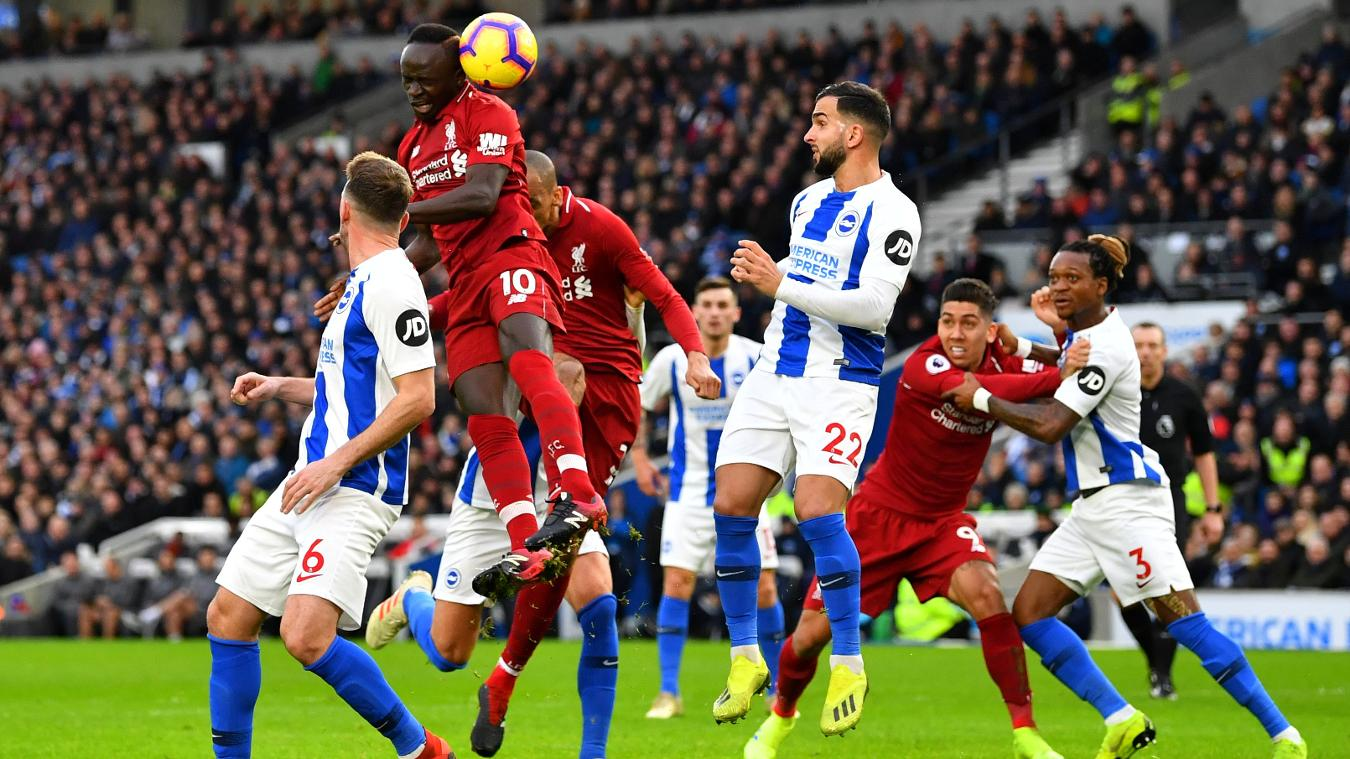 Brighton 0 1 Liverpool Highlights Video 12 1 2019 January 12 2019