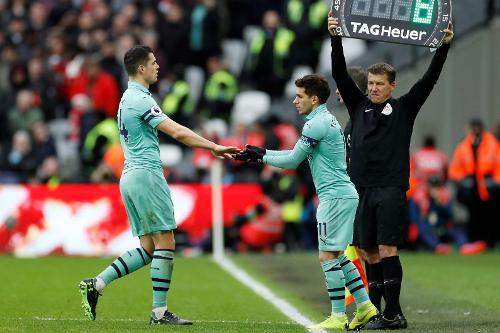 West Ham v Arsenal, 2018/19 | Premier League