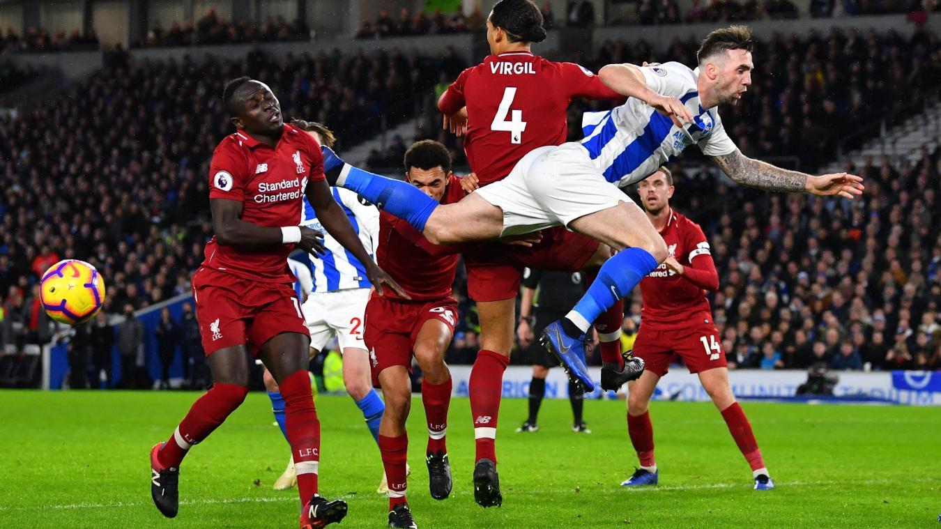 Brighton & Hove Albion 0-1 Liverpool