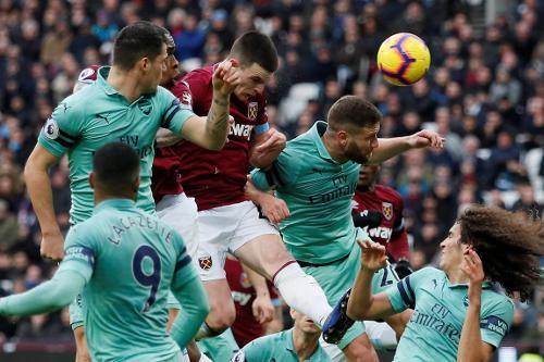 West Ham v Arsenal, 2018/19   Premier League