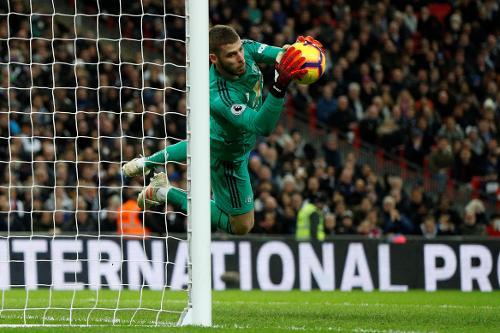Tottenham Hotspur 0, Manchester United 1, David De Gea 11