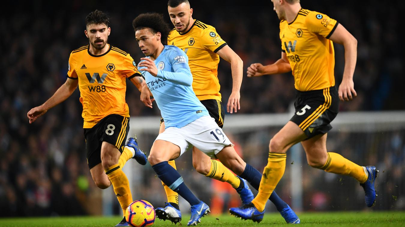Manchester City 3-0 Wolves