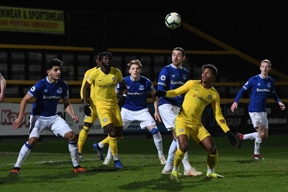 Everton v Chelsea, PL2