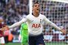 Tottenham Hotspur's Erik Lamela scores against West Ham