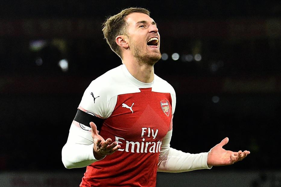 Aaron Ramsey, Arsenal v Fulham