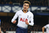 Dele Alli celebrates scoring for Spurs against Everton