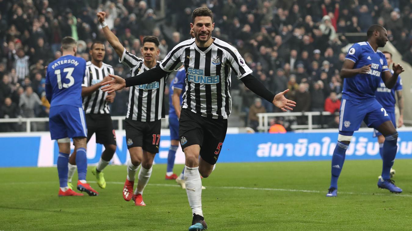Newcastle United 3-0 Cardiff City