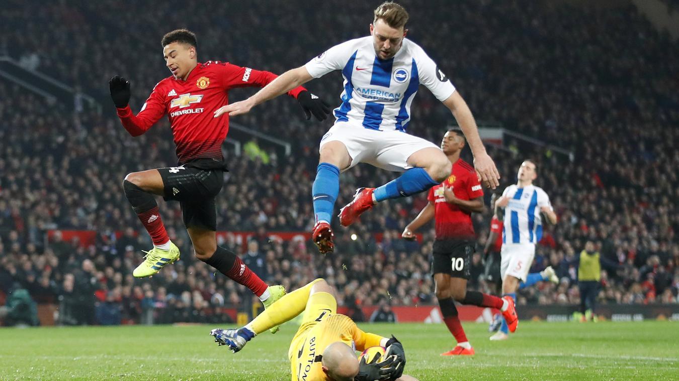 Manchester United 3-0 Brighton & Hove Albion