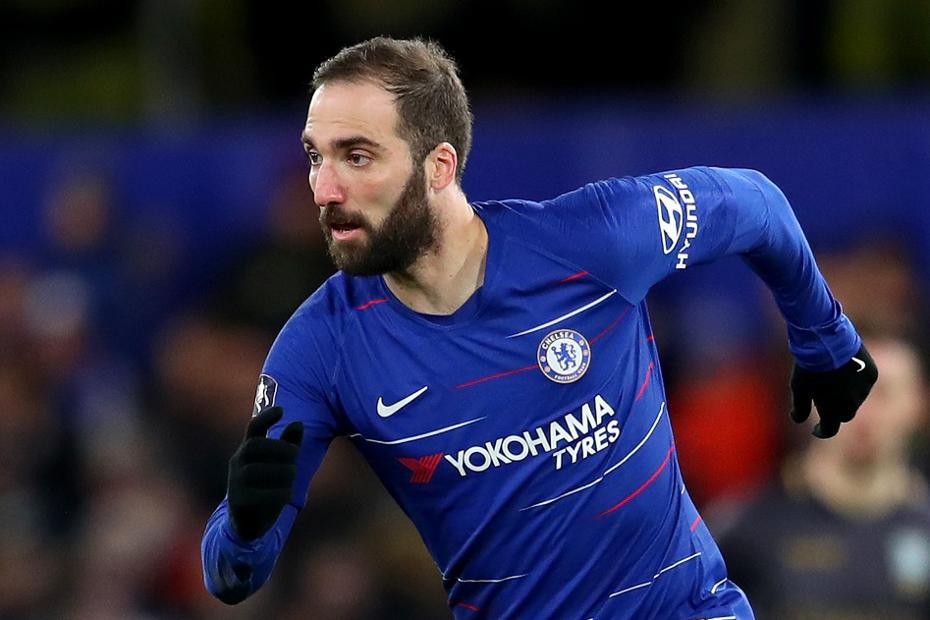 Image result for higuain at chelsea