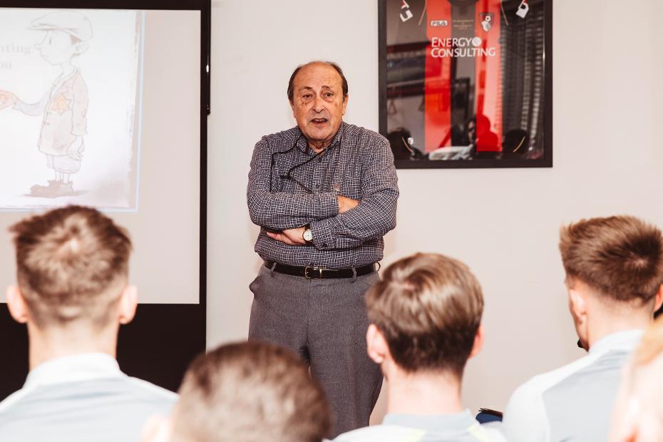 AFC Bournemouth Holocaust Memorial Day Schachter speech
