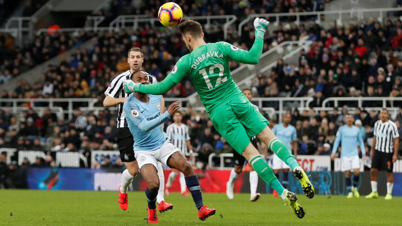 Newcastle United 2-1 Manchester City
