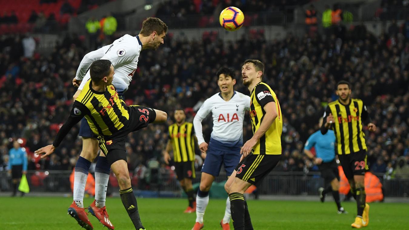 Tottenham Hotspur 2-1 Watford