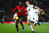 Manchester United v Burnley, Romelu Lukaku and Ben Mee