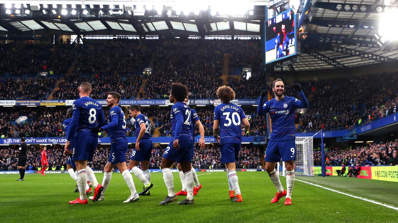 Chelsea 5-0 Huddersfield Town
